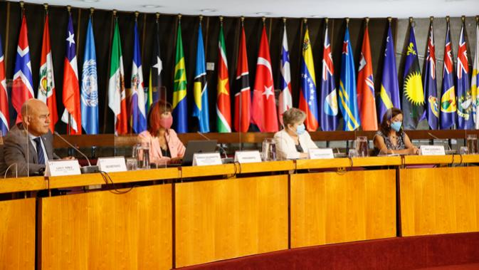 foto de los participantes en el evento