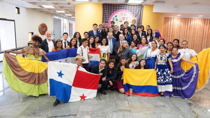 Fotografía oficial de la cuarta reunión de Concausa realizada en 2020