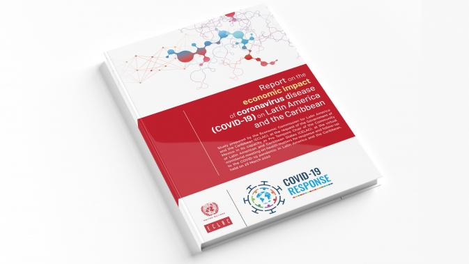 Cover ECLAC COVID-19 report to CELAC