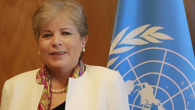 Alicia Bárcena, Secretária-Executiva da CEPAL