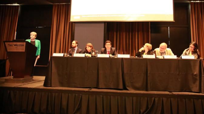 Seminario sobre la minería en América Latina y el Caribe, realizado en Lima, Perú.