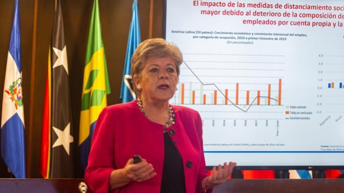 Secretária-Executiva da CEPAL, Alicia Bárcena