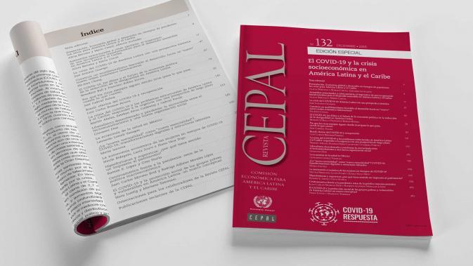 Portada principal Revista CEPAL 132 número especial