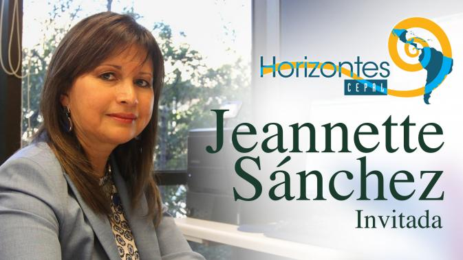 Jeannette Sánchez, Directora de la División de Recursos Naturales e Infraestructura de la CEPAL