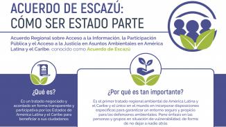 Acuerdo de Escazú - Cómo ser estado parte