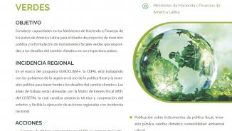 Ficha política fiscal verde