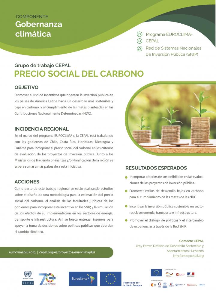 Ficha precio social del carbono