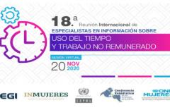 18a Reunión Internacional de Especialistas en información sobre uso de tiempo y trabajo no remunerado