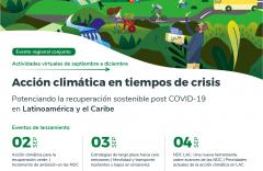 Acción climática para la recuperación de Latinoamérica y el Caribe