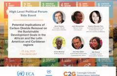 Potential implications of Carbon Dioxide Removal on the Sustainable Development Goals in the African and the Latin American and Caribbean regions