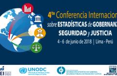 Cuarta Conferencia Internacional sobre Estadísticas de Gobernanza, Seguridad y Justicia