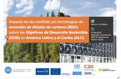 Tecnologías remoción carbono C2G CEPAL