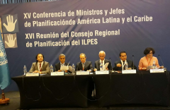 XV Conference of Ministers and Heads of Planning of Latin America and the Caribbean.