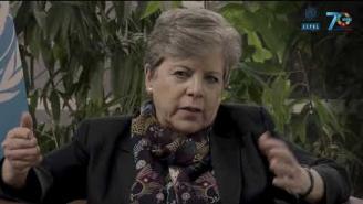 Alicia Barcena presenta el Informe para el Financiamiento del Desarrollo Sostenible 2019