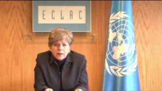 Foro de los Países de ALC sobre el Desarrollo Sostenible: Mensaje de Alicia Bárcena (CEPAL)