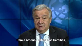 PORTUGUÊS - Mensagem Secretário Geral da ONU. Impacto da COVID-19 na América Latina e nas Caraíbas