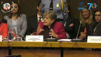 Discurso de Alicia Bárcena en el Foro de los Países sobre el Desarrollo Sostenible 2018