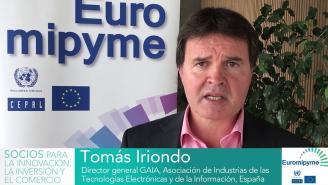 Seminario Euromipyme –Entrevista a Tomás Iriondo, Director General GAIA, España.