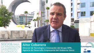 Seminario Euromipyme– Entrevista a Aitor Cobanera, Director de Tecnología e Innovación de SPRI