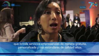 Encuentro SERCOTEC-CEPAL – Entrevista a Ángela Gutiérrez (Perú)