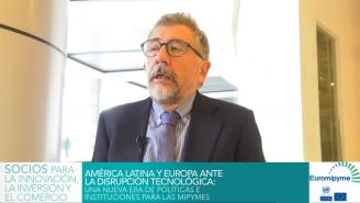 Seminario Euromipyme – Entrevista a Mario Cimoli, Secretario Ejecutivo Adjunto a.i. de la CEPAL