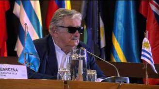 Presidentes de Chile y Uruguay participan en mesa de alto nivel en la CEPAL