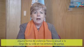 Mensaje de Alicia Bárcena en el Día para la Eliminación de la Violencia contra las Mujeres