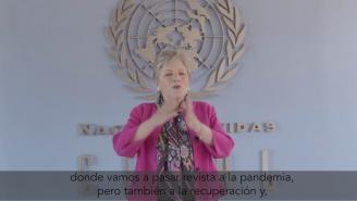 Alicia Bárcena invita a seguir el trigésimo octavo período de sesiones de la CEPAL