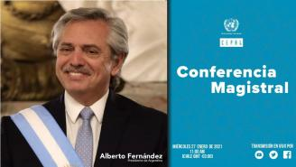 Keynote lecture by the President of the Argentine Republic, Alberto Fernández (English translation)