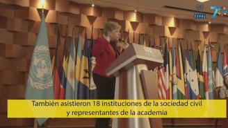 Clausura de la Tercera Conferencia Regional sobre Desarrollo Social de ALC