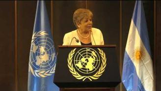 Palabras de Alicia Bárcena, en conferencia magistral del Presidente de Argentina