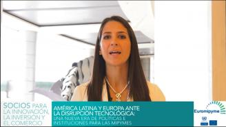 Seminario Euromipyme – Entrevista a Susana Duque, Instituto Nacional del Emprendedor, México.