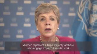 Message by ECLAC's Executive Secretary, Alicia Bárcena, on International Women's Day 2021