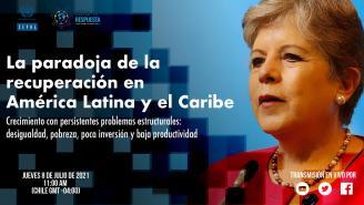 Lanzamiento informe: La paradoja de la recuperación en América Latina y el Caribe