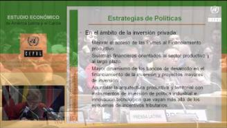 Presentación del Estudio Económico de América Latina y el Caribe 2015
