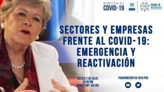 Lanzamiento Informe COVID-19 No.4: Sectores y empresas frente al COVID-19: emergencia y reactivación