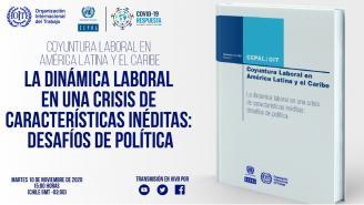 Lanzamiento nuevo informe CEPAL-OIT Coyuntura Laboral en América Latina y el Caribe