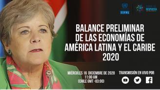 Lanzamiento Balance Preliminar de las Economías de América Latina y el Caribe 2020