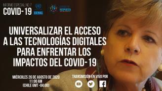 Universalizar el acceso a las tecnologías digitales para enfrentar los impactos del COVID-19