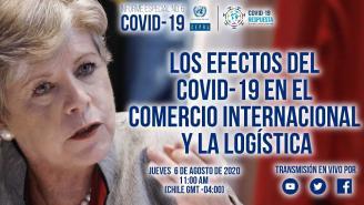 Presentación Alicia Bárcena Informe especial COVID-19 No. 6 sobre comercio y logística