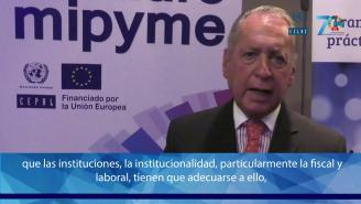 Seminario MIPYME 2018 - Entrevista a Daniel Funes de Rioja (CEPAL)