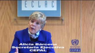 Saludo de Alicia Bárcena en entrega del informe de Evaluación de Desempeño Ambiental de Perú