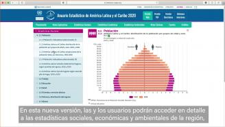 Anuario Estadístico de América Latina y el Caribe 2020