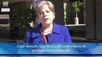 IX Reunión de la CEA (México, 2017) - A. Bárcena explica importancia de la información estadística.