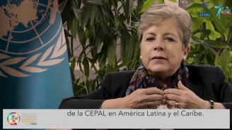 Alicia Bárcena, Secretaria Ejecutiva de la CEPAL, invita al Foro sobre Desarrollo Sostenible
