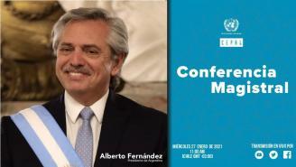 Conferencia Magistral del Presidente de Argentina, Alberto Fernández