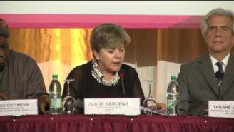 Inauguración de la XIII Conferencia Regional sobre la Mujer
