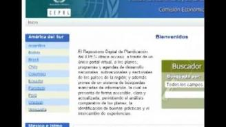 Repositorio digital de planificación del ILPES