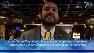 Encuentro SERCOTEC-CEPAL - Entrevista a Subsecretario Ignacio Guerrero (Chile)