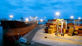 Transporte marítimo y puertos
